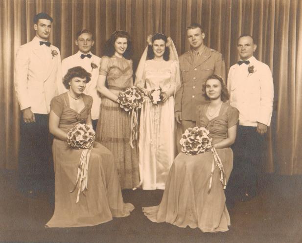 7-20-1944 Wedding Party