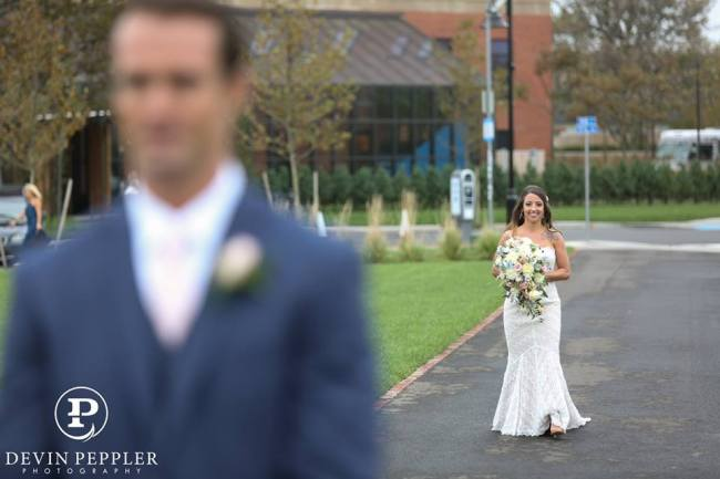 Asbury Park Wedding First Look