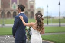 Asbury Park Wedding First Look Photography