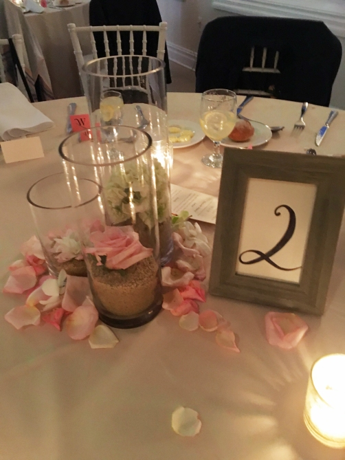 Beach weddingcenterpiece