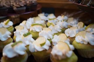 Key lime cupcake mini wedding desserts